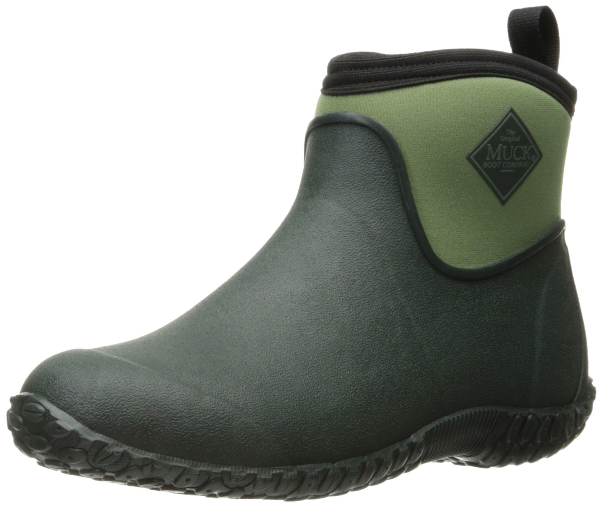 Muck Boot Women's Muckster 2 Ankle Snow Boot, Green, 8 M US