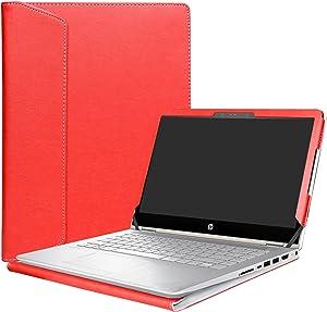 """Alapmk Protective Case Cover for 14"""" HP Pavilion x360 14 14-baXXX 14m-baXXX (14m-ba000 to 14m-ba999,Such as 14M-BA114DX,Not fit Pavilion x360 14 14-cdXXX & Pavilion 14 Series) Laptop,Red"""