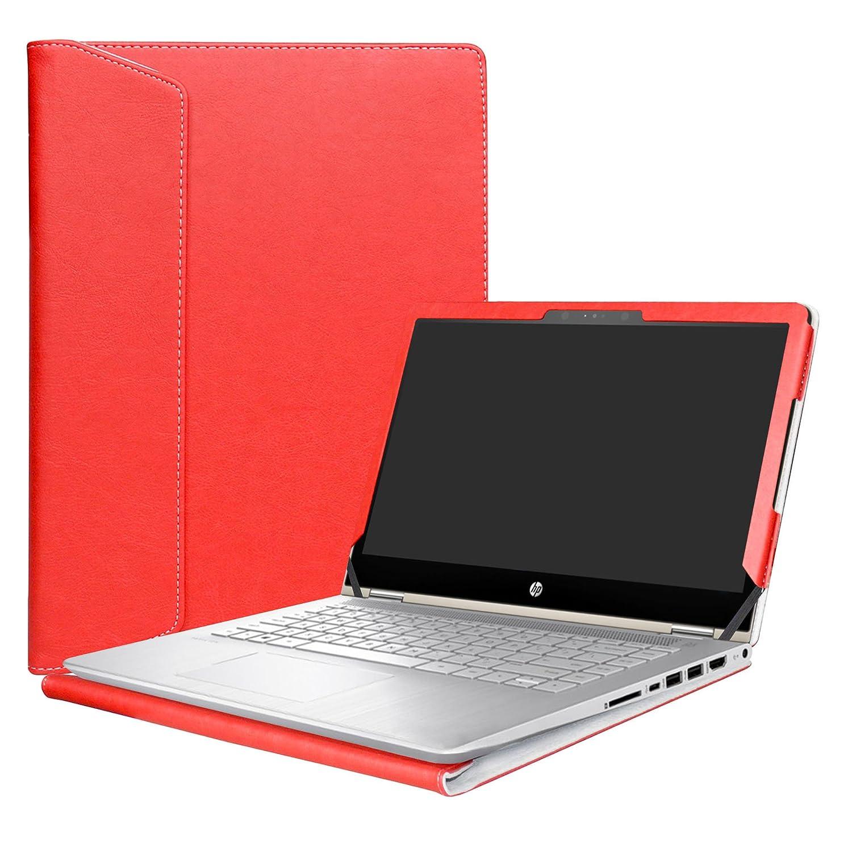 Alapmk Protective Case Cover For 14' HP Pavilion x360 14 14-baXXX 14m-baXXX (14m-ba000 to 14m-ba999, Such as 14M-BA114DX, Not fit Pavilion x360 14 14-cdXXX & Pavilion 14 Series) Laptop, Black shengsheng-USAstore TMJ0021-1