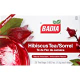 Badia Hibiscus Tea, 2 Pack (Each 25 Bags)