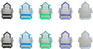 YML Lot of 10 Pagoda Top Parakeet Cage, Small