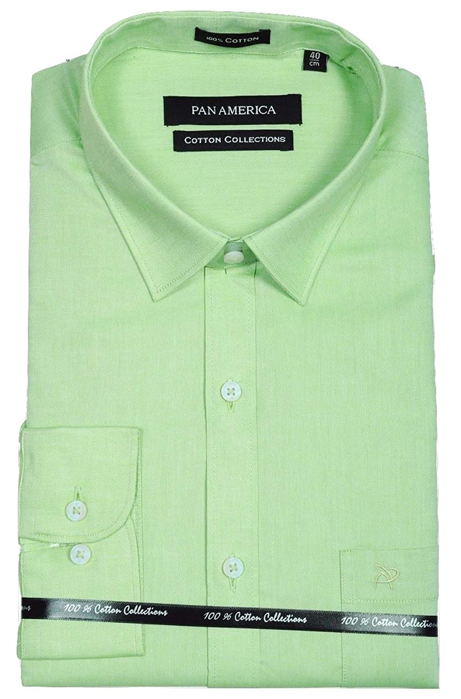 pan america men u0027s formal shirt in slimfit amazon in clothing