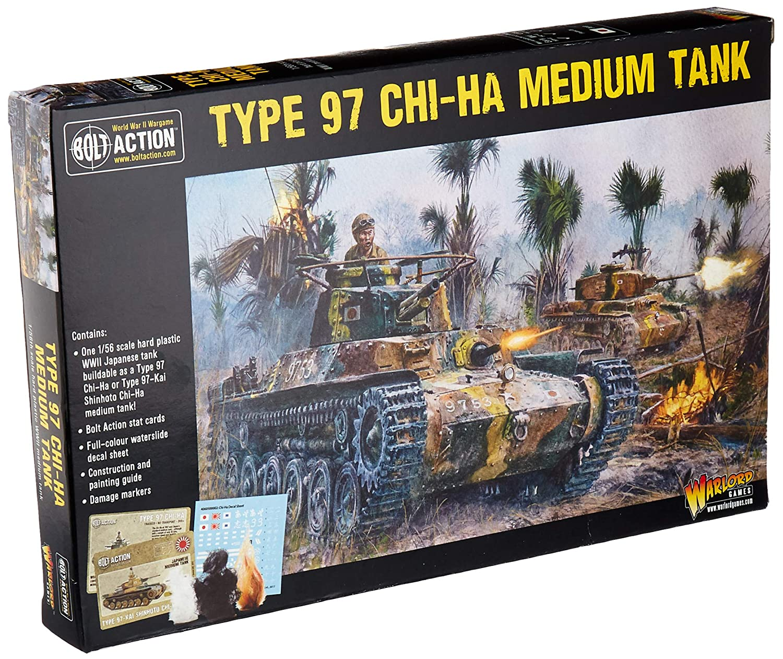 Amazon com: Bolt Action Type 97 Chi-Ha Japanese Medium Tank