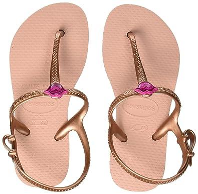 922391d820168 Havaianas Freedom Girls Sandals 11-12 M US Little Kid Ballet Rose