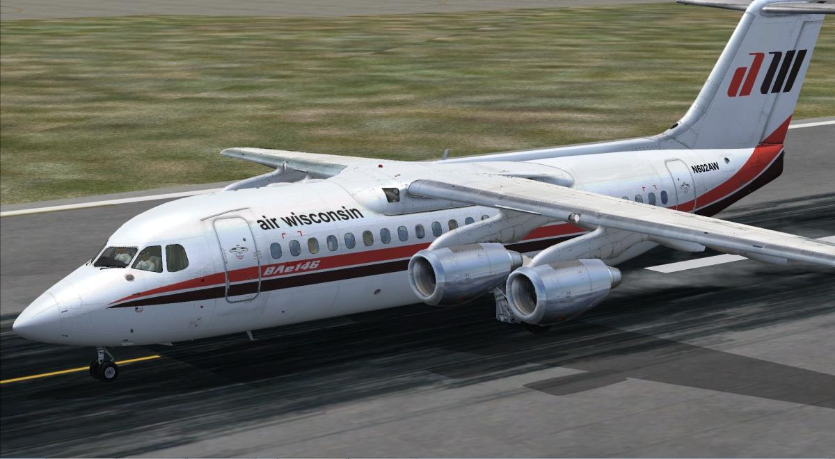 Amazon com: 146-200/300 Jetliner Livery & FMC Expansion Pack