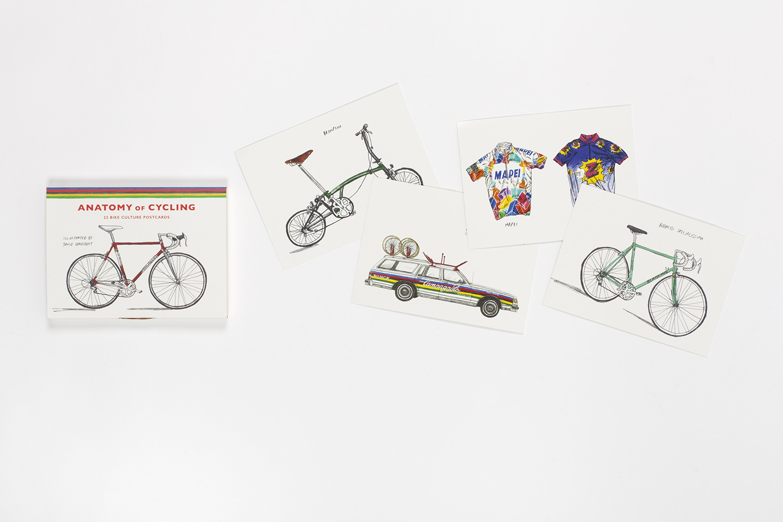 Anatomy of Cycling: 22 Bike Culture Postcards: Amazon.co.uk: David ...