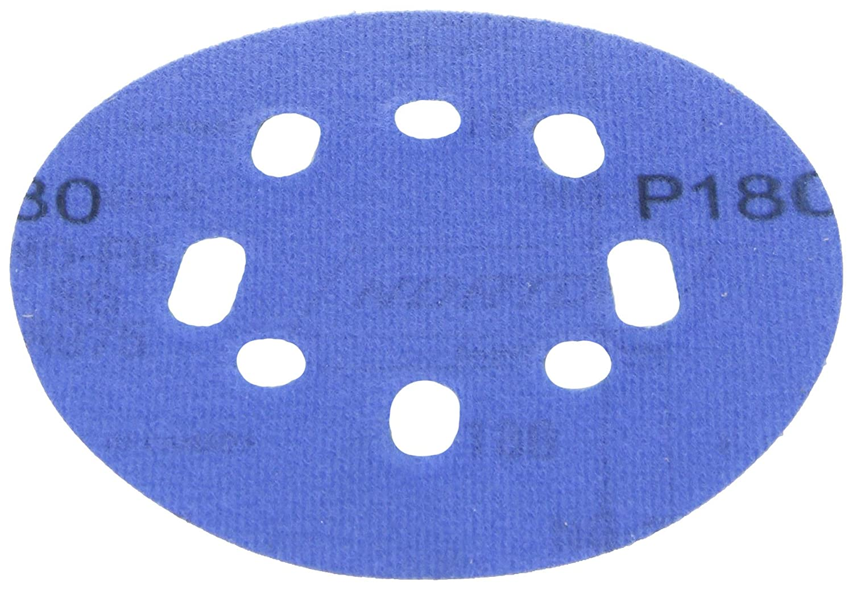 5-Inch, Norton 03232 3X Hook andSand80Grit Universal Vac Hole Sanding Disc