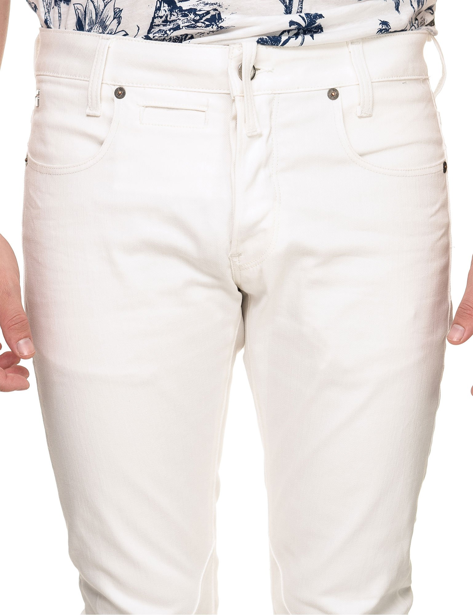 G-STAR Men's D-STAQ 5-Pkt Slim Pants White in Size 30W 32L by G-STAR (Image #3)