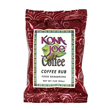 Amazon Kona Joe Coffee Rub Food Seasoning All Natural Spices