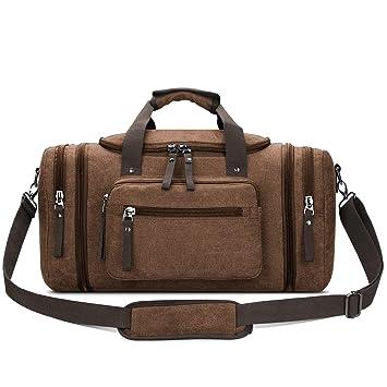 Amazon.com: Toupons equipaje, bolso de viaje de lona de 20,8 ...
