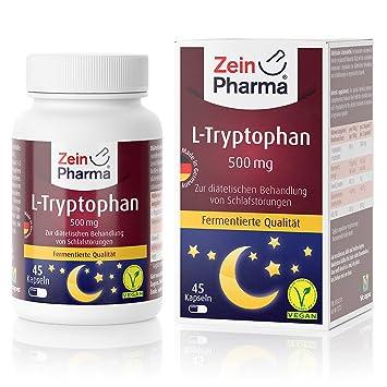 Cápsulas de L-Triptófano para un sueño saludable de ...