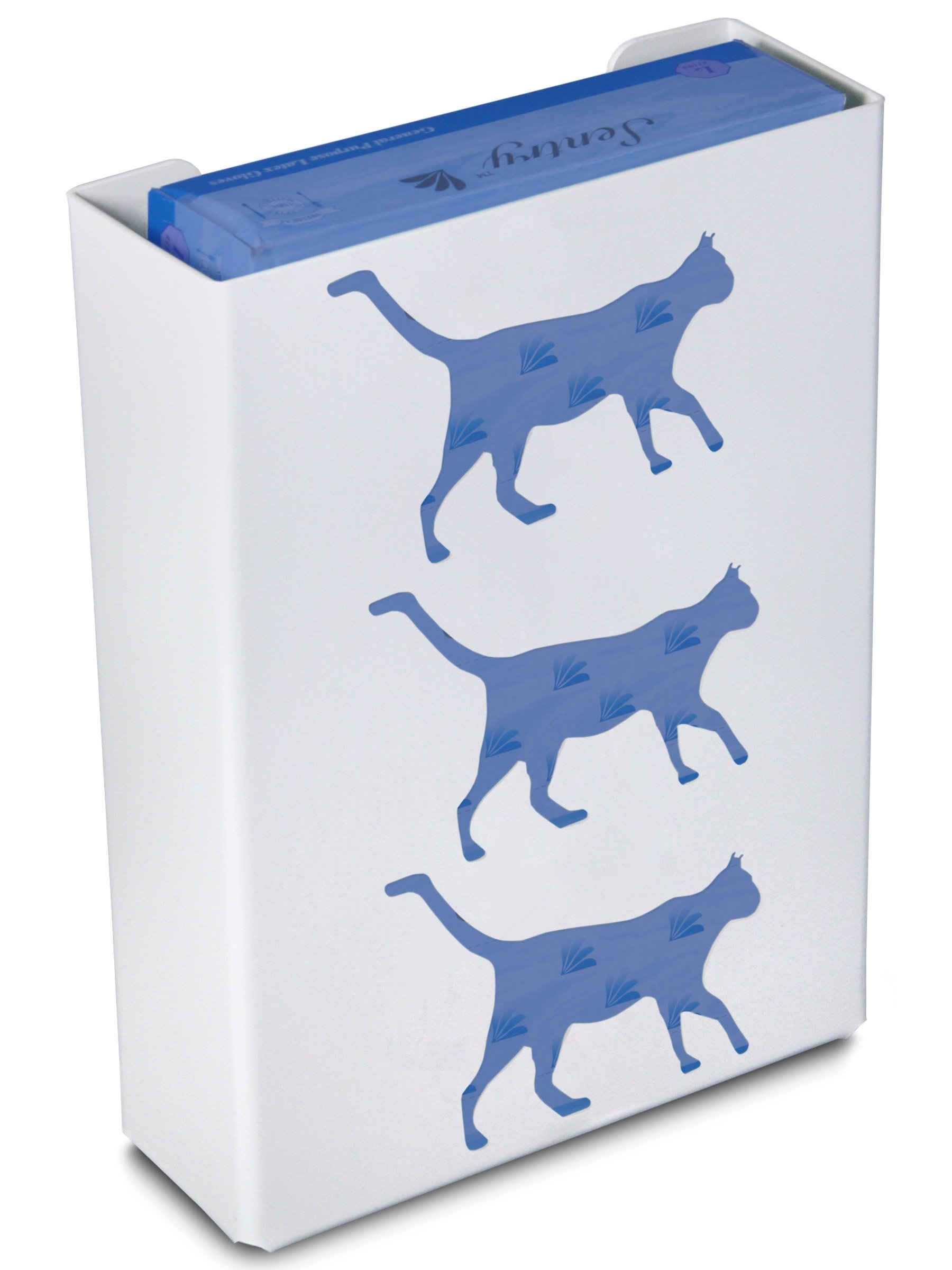 TrippNT 50853 Priced Right Triple Glove Box Holder with Cat, 11'' Width x 15'' Height x 4'' Depth