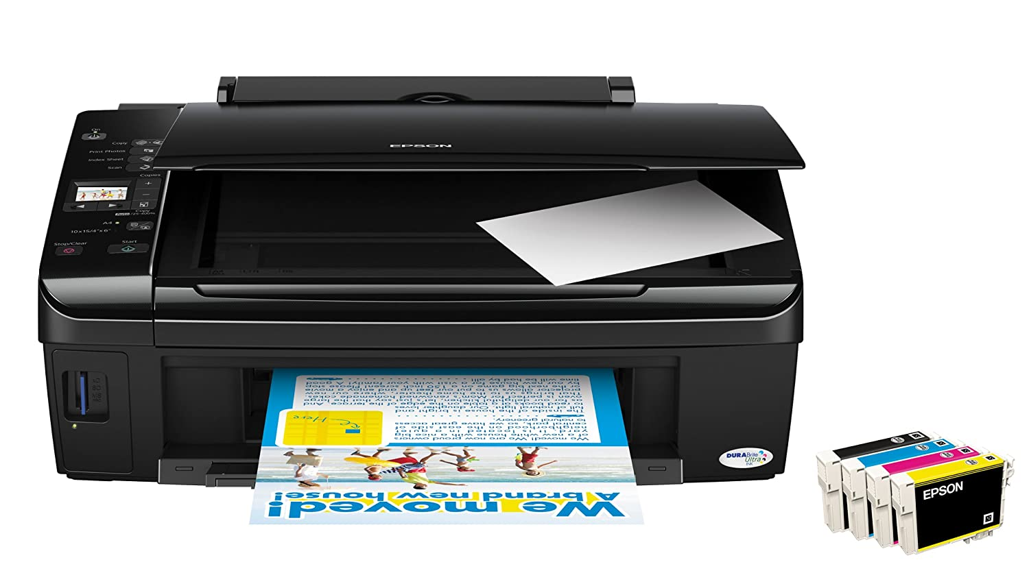 Epson Stylus SX210 Multifunctional Printer: Amazon.co.uk: Computers &  Accessories