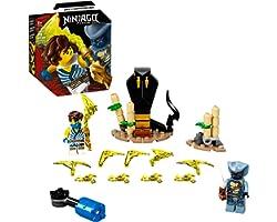 71732 Kit de Construção LEGO® NINJAGO® Conjunto de Combate Épico – Jay vs Serpentine (69 peças)