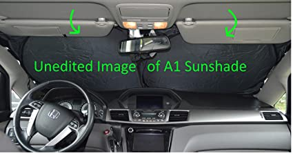 Amazon Com Windshield Sun Shade Suv Car Size Chart With Your