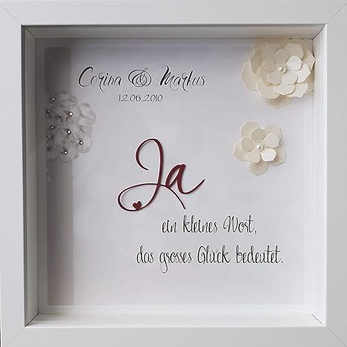Individuelles Hochzeitsgeschenk Personalisierbar Namen Brautpaar