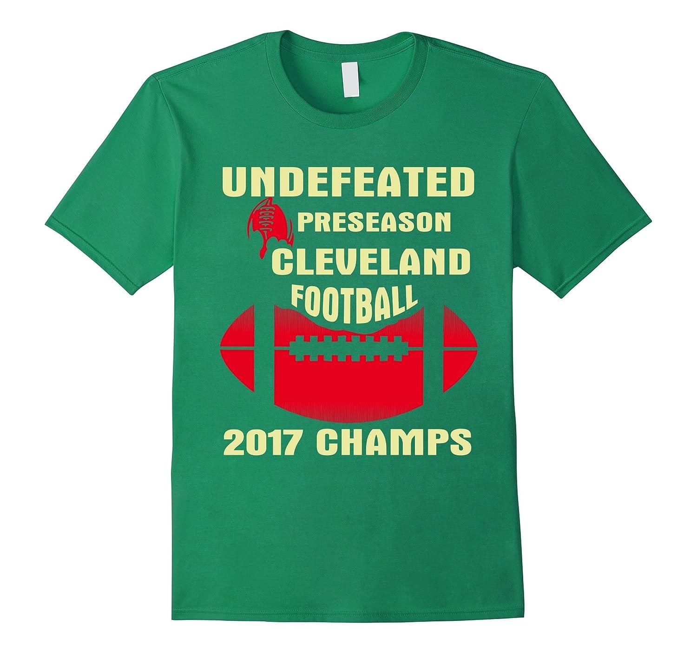 Cleveland Football Preseason 2017 Champs T-shirt-BN