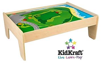 Perfect KidKraft Train Table   Natural