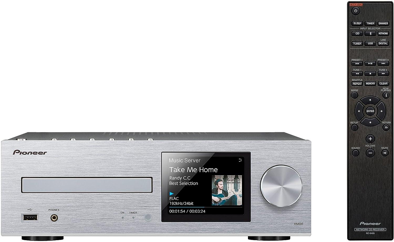 パイオニア Pioneer XC-HM86 ネットワークCDレシーバー Bluetooth/ハイレゾ対応 シルバー XC-HM86(S)  【国内正規品】   B01L9W87T8