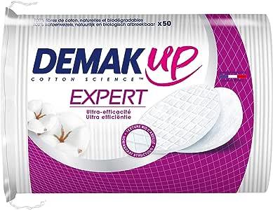 DemakUp - Lote de 4 paquetes de 50 discos de algodón ...