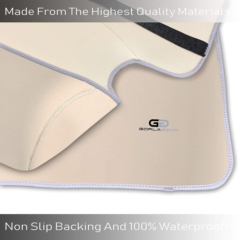 Gorla Beige Universal Fit Waterproof Seat Cover