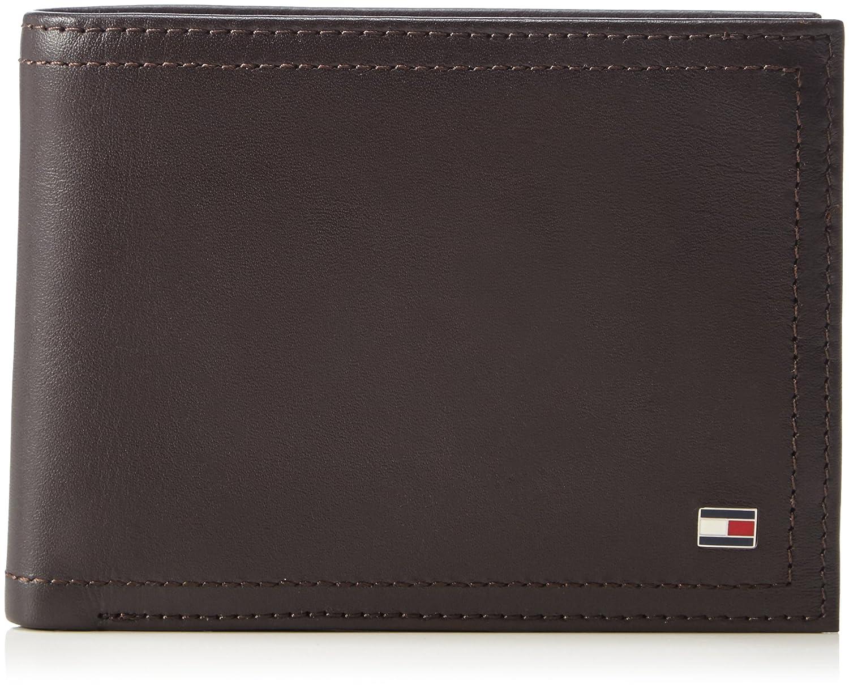 Tommy Hilfiger Harry Leather CC Flap and Coin Pocket, Portefeuille Tommy Hilfiger AM0AM01259 13x10x3 cm (B x H x T) T.H. Deutschland GmbH