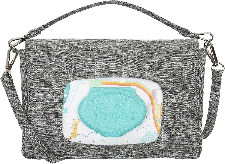 liuliuby Mini Diaper Bag - Crossbody Diaper Bag, Diaper Clutch or Wristlet