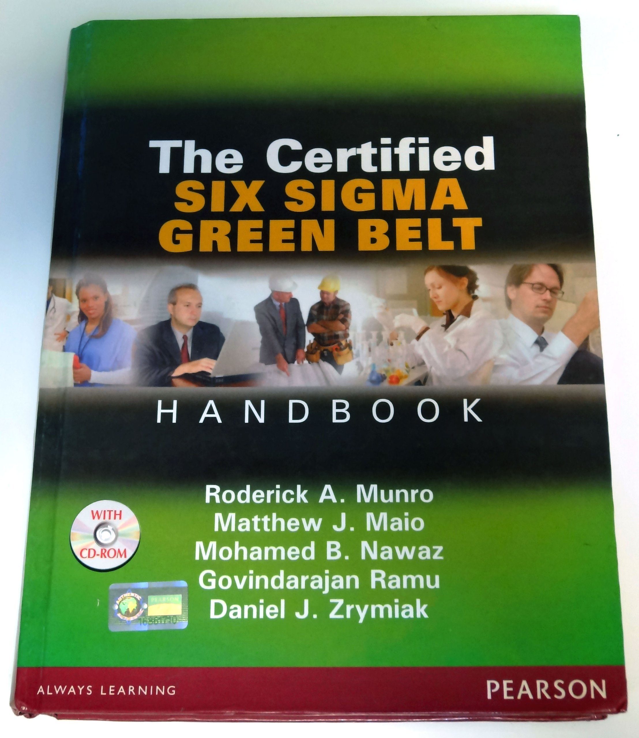The certified six sigma green belt handbook international the certified six sigma green belt handbook international edition amazon books 1betcityfo Gallery