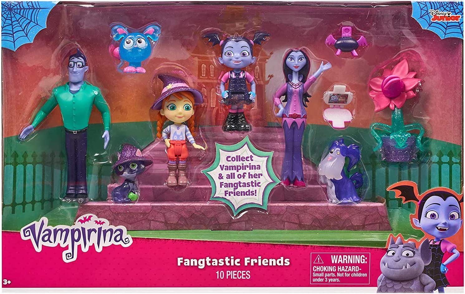 Vampirina - Pack Deluxe figuras Serie 2 (Bandai 78027): Amazon.es: Juguetes y juegos