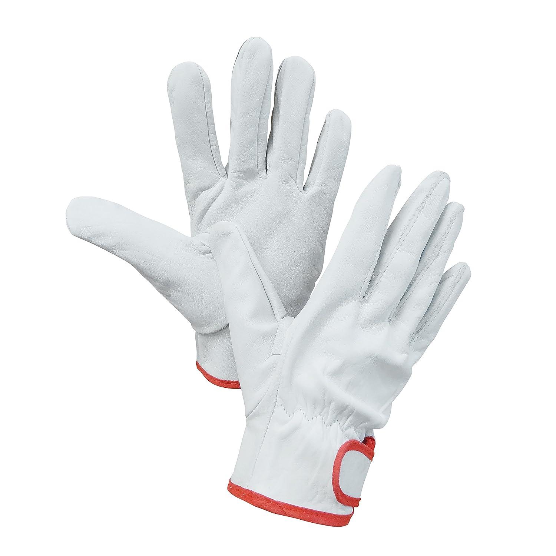 レッドギア 女性用作業用 革手袋