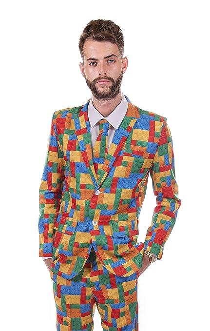Plástico ladrillo - Ciervo traje: Amazon.es: Juguetes y juegos