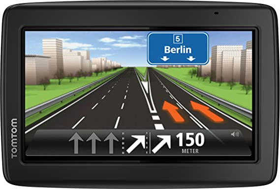 TomTom Start 25 M Europe Traffic Navigationsgerät (Free Lifetime Maps, 13 cm (5 Zoll) Display, TMC, Fahrspurassistent, Parkas