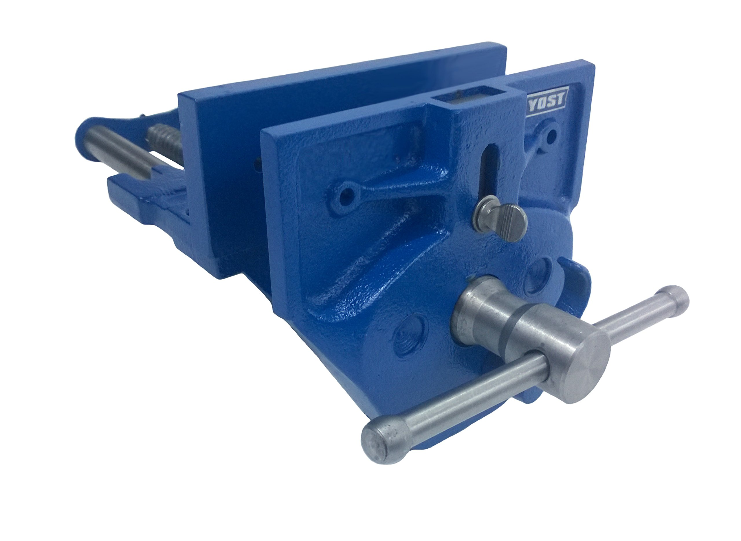 Yost M9WW Rapid Acting Wood Working Vise, 9'', Blue