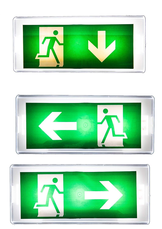 Exit - Luz de emergencia LED (IP20): Amazon.es: Bricolaje y ...