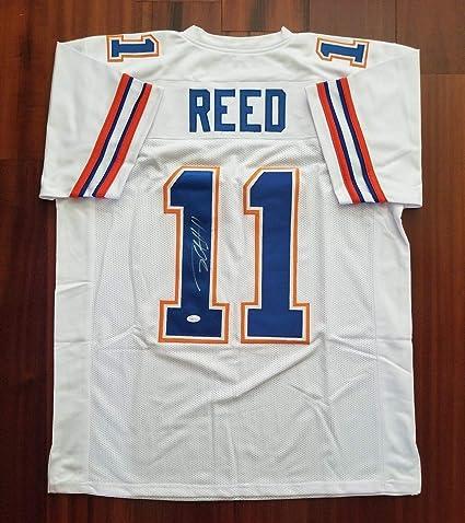 official photos 8d33f 3b89d Jordan Reed Autographed Signed Memorabilia Jersey Florida ...