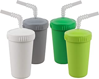 product image for 4PK Straw (Modern Green)
