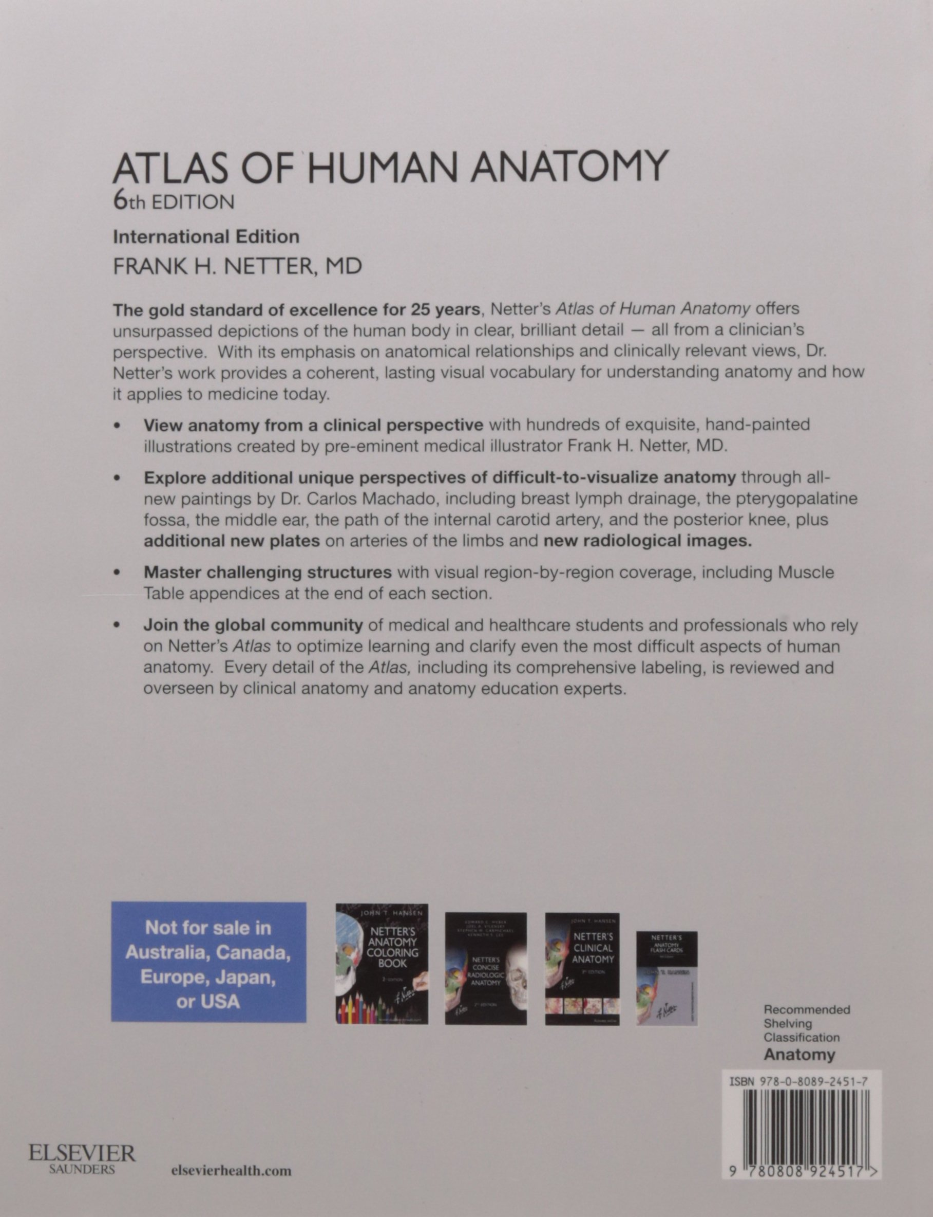 Buy Atlas Of Human Anatomy Old Edition Book Online At Low Prices
