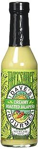 Dave's Gourmet Creamy Roasted Jalapeño Hot Sauce, 8 Ounces