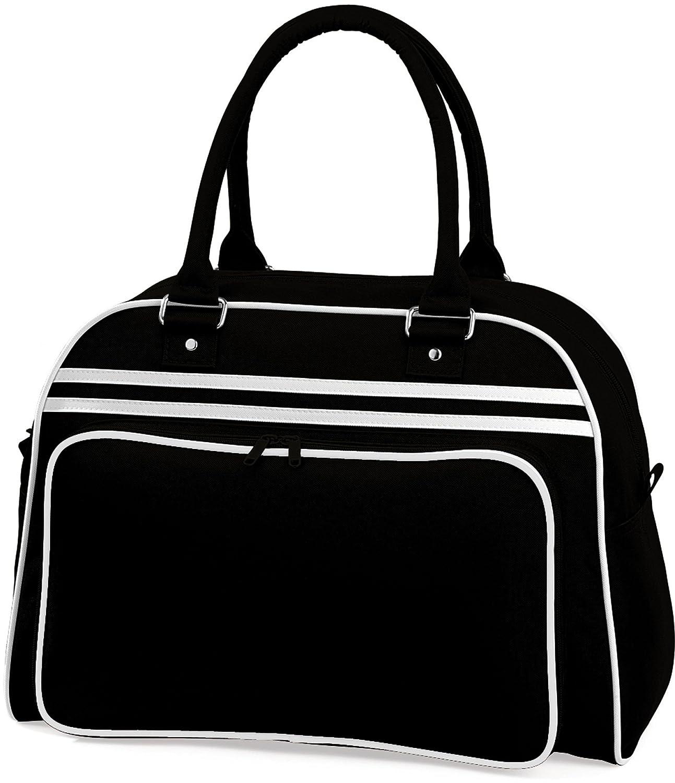 BagBase catadióptricas Bowling Bag 1 Pack BG075BKWH