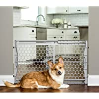 "Carlson Pet Products 2323 DS Easy Fit Plastic Adjustable 26-42"" Wide Pet Gate"