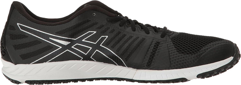 Amazon.com | ASICS Men's FUZEX TR Running Shoe, Black/Onyx/Silver ...