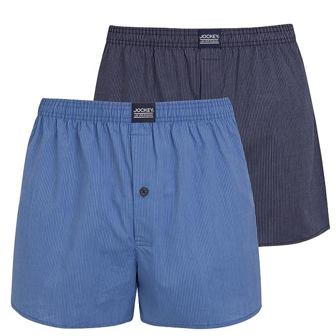 Jockey - Bóxers - para hombre azul azul XX-Large