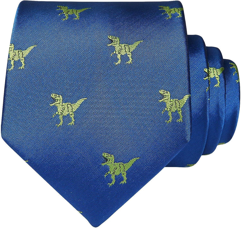HISDERN Animal Patterns Hochzeit Krawatte Taschentuch Herren Krawatte /& Einstecktuch Set