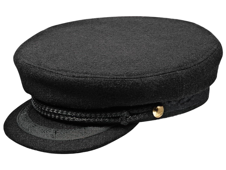 Sterkowski Men's Skippers Wool Cloth Cap MST-SZP-W00US 8 1/8 $P