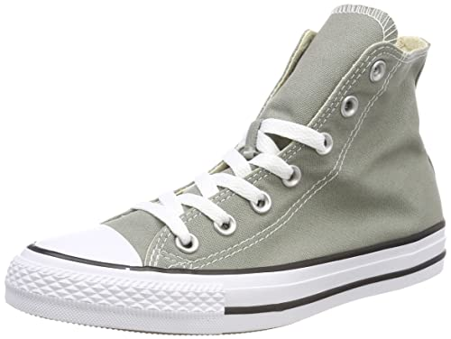 a53ec57628f4 Converse Unisex Adults  CTAS Hi Dark Stucco Top Trainers  Amazon.co ...
