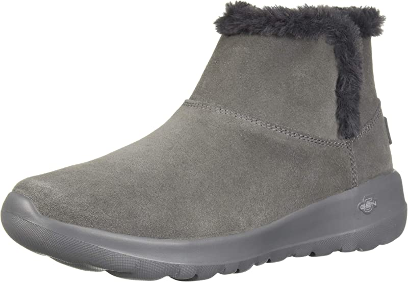 Skechers On The Go Joy Bundle Up Sneakers Stiefel Damen Grau (Charcoal)