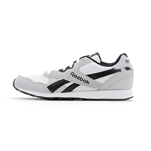 Mens Royal Ultra Gymnastics Shoes, Grey (Solid Grey/White), 6 UK Reebok