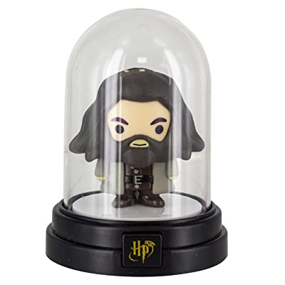 Paladone Harry Potter Hagrid Character Mini Bell Jar Light: Home Improvement