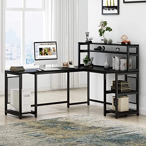 Tribesigns 67″ Large Computer Desk