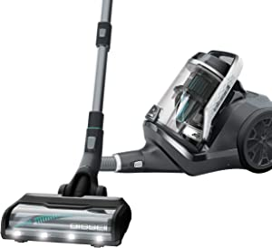 BISSELL Pet Hair Eraser Bagless Cylinder Canister Vacuum Cleaner, 2230